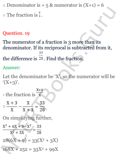 KC Sinha Maths Solutions Class 10 Chapter 7 Quadratic Equations Ex 7.5 - 28