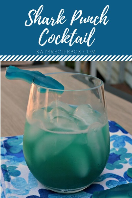 Shark Punch Cocktail