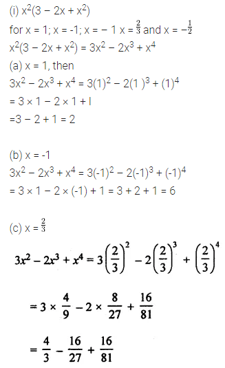 ML Aggarwal Class 8 Solutions for ICSE Maths Chapter 10 Algebraic Expressions and Identities Ex 10.2 Q5