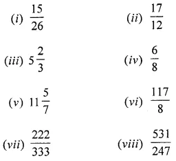 ML Aggarwal Class 6 Solutions for ICSE Maths Chapter 6