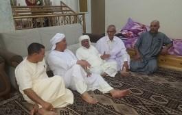 زيارة تهنئة وتغافر للمجاهد الحاج حمزة بن خيرة (خميلة)