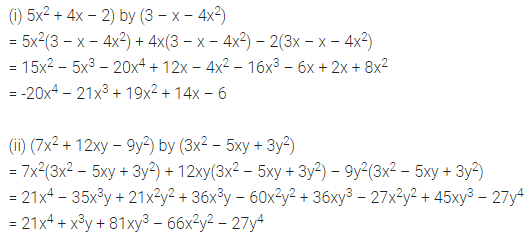ICSE Mathematics Class 8 Solutions Chapter 10 Algebraic Expressions and Identities Check Your Progress Q6