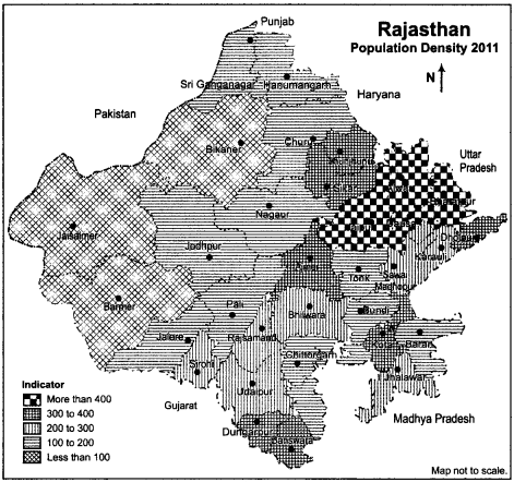 RBSE Solutions for Class 12 Geography Chapter 25 Rajasthan Population and Tribes 8