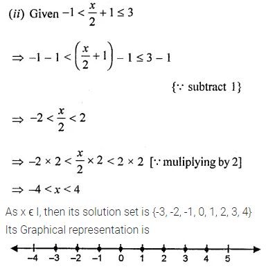 ML Aggarwal Class 8 Solutions for ICSE Maths Chapter 12 Linear Equations and Inequalities in one Variable Ex 12.3 Q11.1