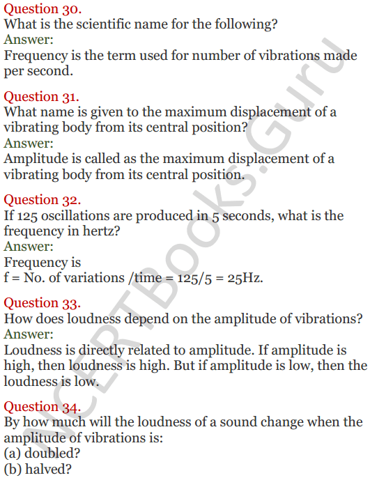 Lakhmir Singh Science Class 8 Solutions Chapter 13 Sound - 8