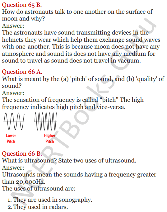 Lakhmir Singh Science Class 8 Solutions Chapter 13 Sound - 21