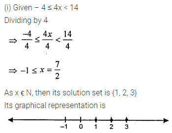 Maths Questions for Class 8 ICSE With Answers Chapter 12 Linear Equations and Inequalities in one Variable Ex 12.3 Q11