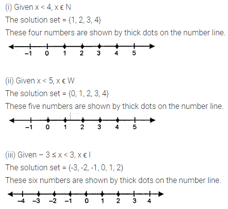 ICSE Class 8 Maths Book Solutions Free Download Pdf Chapter 12 Linear Equations and Inequalities in one Variable Ex 12.3 Q2