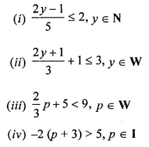 ML Aggarwal Class 8 Solutions for ICSE Maths Chapter 12 Linear Equations and Inequalities in one Variable Ex 12.3 Q7