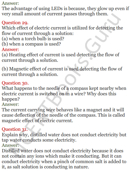 Lakhmir Singh Science Class 8 Solutions Chapter 14 Chemical Effects of Electric Current - 9