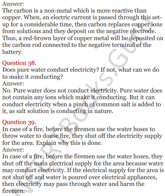 Lakhmir Singh Science Class 8 Solutions Chapter 14 Chemical Effects of Electric Current - 12