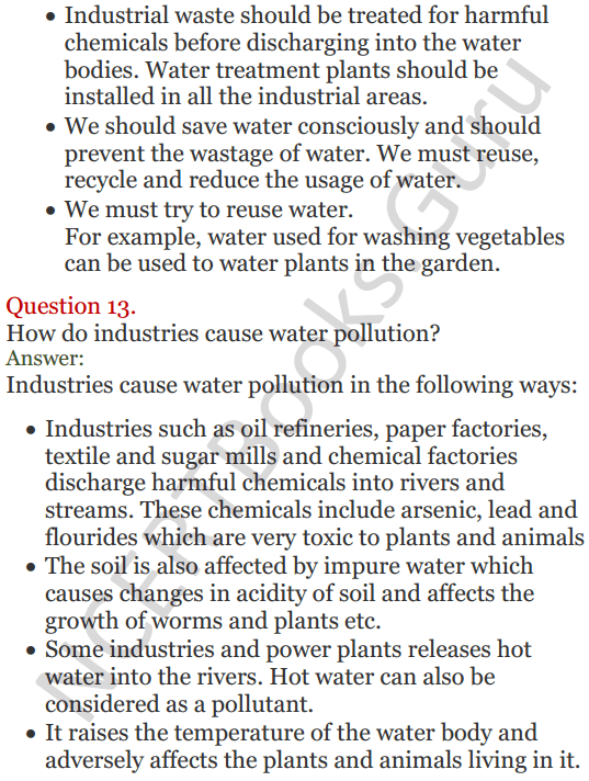 Lakhmir Singh Science Class 8 Solutions Chapter 18 Pollution of Air and Water - 5