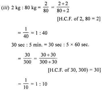 ML Aggarwal Class 6 Book Pdf Chapter 8 Ratio and Proportion Ex 8.2