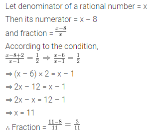 ML Aggarwal Class 8 Solutions for ICSE Maths Chapter 12 Linear Equations and Inequalities in one Variable Check Your Progress Q5