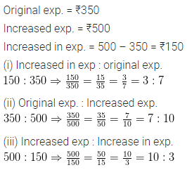 ML Aggarwal Class 6 Maths Solution Chapter 8 Ratio and Proportion Ex 8.1