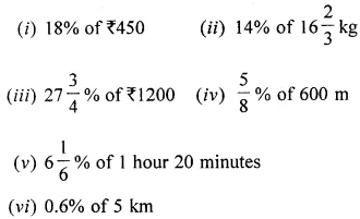 ICSE Class 6 Maths Solutions ML Aggarwal Chapter 8 Ratio and Proportion Ex 8.4