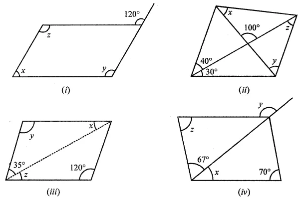 ML Aggarwal Class 8 Solutions Chapter 13 Understanding Quadrilaterals Ex 13.2 Q2