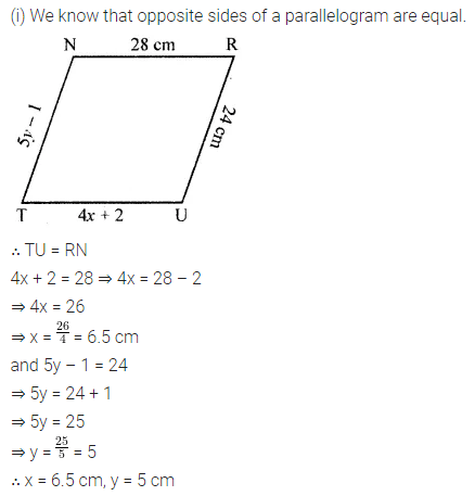 ML Aggarwal Class 8 Solutions for ICSE Maths Chapter 13 Understanding Quadrilaterals Ex 13.2 Q7.1