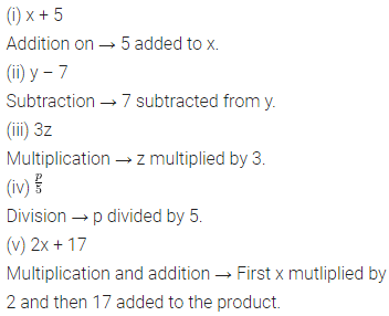 ICSE Class 6 Maths Solutions ML Aggarwal Chapter 9 Algebra Ex 9.3