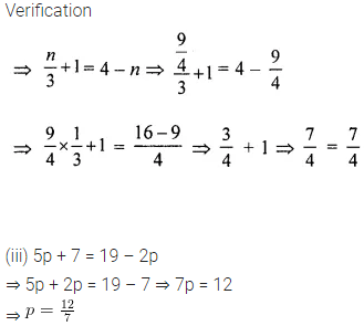 New Learning Mathematics Class 6 Solutions Chapter 9 Algebra Ex 9.5