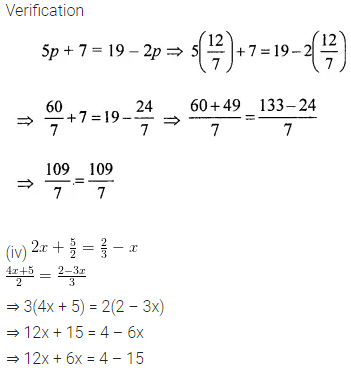 Class 6 ML Aggarwal Solutions Chapter 9 Algebra Ex 9.5