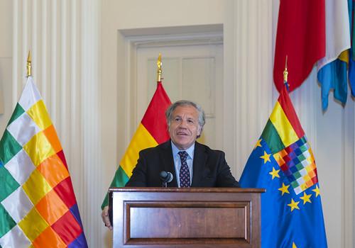 Celebration of National Day of Bolivia