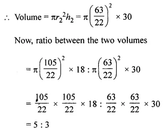 ML Aggarwal Class 8 Solutions for ICSE Maths Chapter 18 Mensuration Ex 18.3 Q11.1