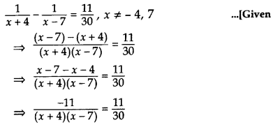 Important Questions for Class 10 Maths Chapter 4 Quadratic Equations 24