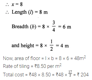 ML Aggarwal Class 8 Solutions for ICSE Maths Model Question Paper 6 Q24.1