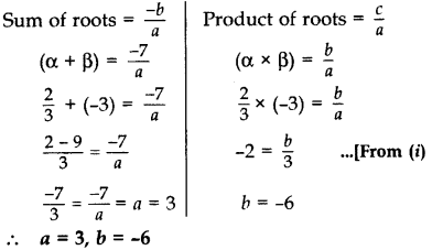 Important Questions for Class 10 Maths Chapter 4 Quadratic Equations 9