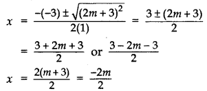 Important Questions for Class 10 Maths Chapter 4 Quadratic Equations 1
