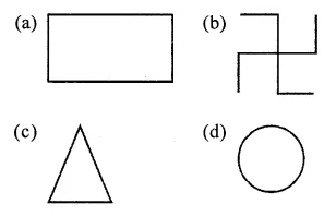 ICSE Class 6 Maths Solutions ML Aggarwal Chapter 12 Symmetry Objective Type Questions