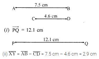 Class 6 Maths ICSE ML Aggarwal Chapter 13 Practical Geometry Ex 13.1
