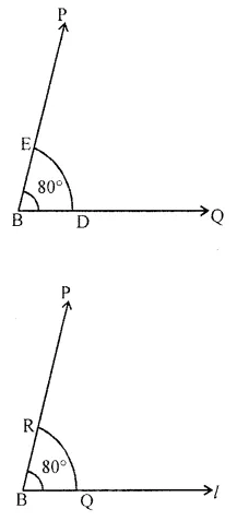 Class 6 Maths ICSE ML Aggarwal Chapter 13 Practical Geometry Ex 13.3