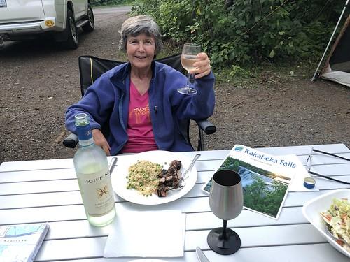 Kakabeka - Linda dinner and wine