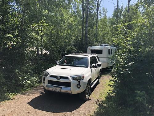 Kakabeka - a nice photo of the camp