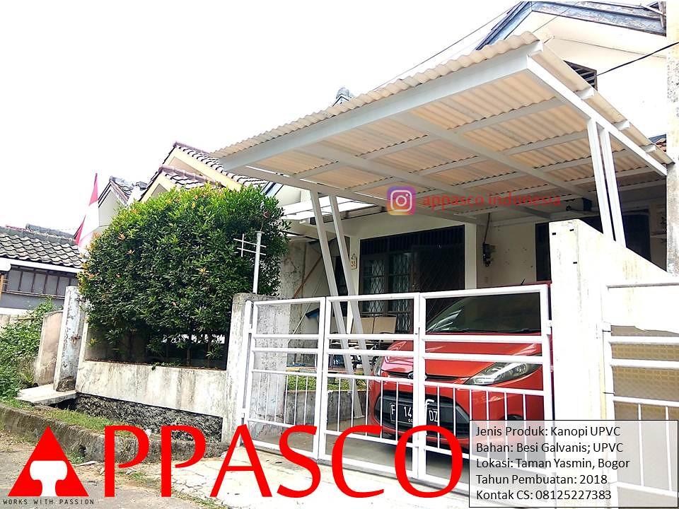 kanopi baja galvanis besi atap upvc di taman yasmin a photo on flickriver