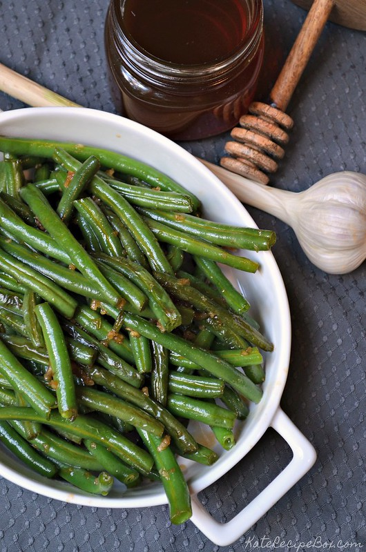 Honey Garlic Green Beans 3