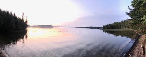 Aaron - Thunder Lake Panorama
