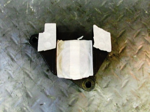 Masking on Mating Surface And Bore on Inside Face of Caliper