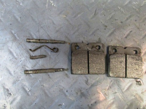 Retaining Clip Parts and Brake Pads