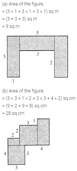 ML Aggarwal Class 6 Solutions for ICSE Maths Chapter 14 Mensuration Check Your Progress Q7.1