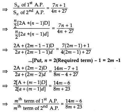 Important Questions for Class 10 Maths Chapter 5 Arithmetic Progressions 14