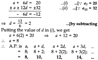 Important Questions for Class 10 Maths Chapter 5 Arithmetic Progressions 2