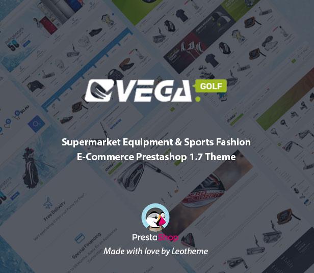 Vega Store Supermarket Equipment Prestashop