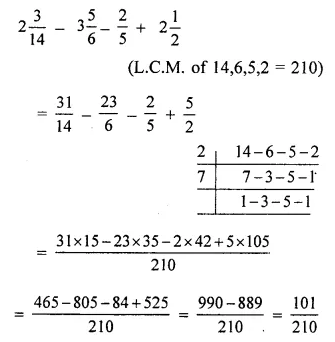 ML Aggarwal Class 6 Solutions for ICSE Maths Model Question Paper 2 Q6