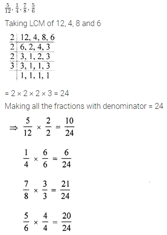 ML Aggarwal Class 6 Solutions ICSE Maths Model Question Paper 3