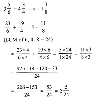 ML Aggarwal Class 6 Solutions for ICSE Maths Model Question Paper 3 Q21