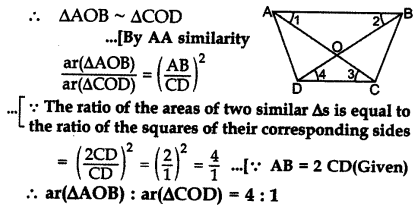 Important Questions for Class 10 Maths Chapter 6 Triangles 56
