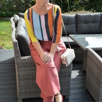 Outfit of the week: Terracotta linen pants